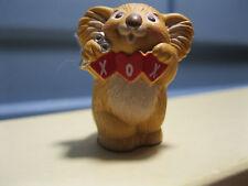 1988 Hallmark Valentine's Day Merry Miniature Koala & Hearts