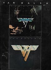 VAN HALEN  Van Halen I and II   rare sheet music songbook