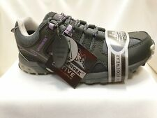 GROUNDWORK EVEREST LADIES HOPE GREY/LILAC  WOMENS HIKING COMFORT WALKING SHOES 3