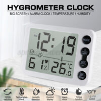 Kitchen Electronic Digital Clock Countdown Timer Temperature Humidity Tester  !