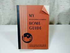 Vintage 1933 My Home Guide Better Homes & Gardens' Book Decorating, Furnishings