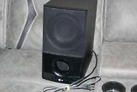 LG Original Replacement Wireless Subwoofer SHS54-A  from Soundbar system HLB54S