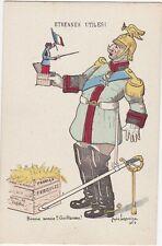 Guerre 14-18 caricature satirique  anti kaiser ETRENNES
