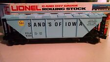 """Lionel  6-9358  """"Sand's of Iowa""""  COVERED  HOPPER, - NEW -  LAST ONE-"""