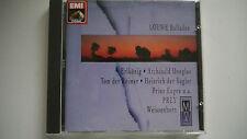 Loewe Balladen - Prey - Weissenborn -  CD