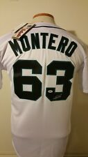 Jesus Montero Mariners PSA/DNA RookieGraph Auto Signed Majestic Jersey New Tag