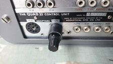 Quad II 22 pre-amp plug in tape adaptor 10K OHM Adjustable for CD etc.