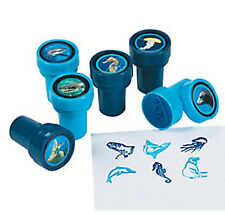 UNDER THE SEA PARTY ~ Ocean Life Stampers - Pack of 6 - Great Party Favours