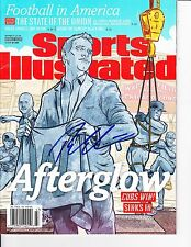 CHICAGO CUBS THEO EPSTEIN SIGNED WORLD SERIES SPORTS ILLUSTRATED 11/21/2016