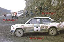Walter Rohrl ALITALIA FIAT 131 ABARTH RAC Rally 1979 fotografia 6