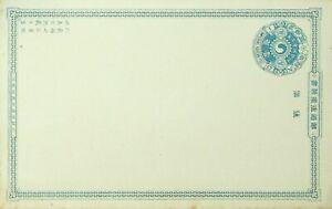 KOREA 1c UNUSED POSTAL STATIONERY CARD