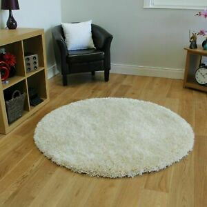 Circle Round Thick Shaggy Runner Rug Soft Living Bedroom Floor Carpet Non Shed L