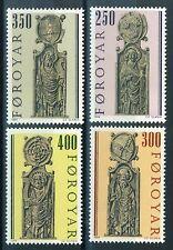 Faroe Islands Stamps - Scott # 102-105 MNH - Pew Gables Type 1984 (S274)