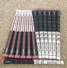 NEW! 13 Golf Pride Multicompound ALIGN Classic Standard Golf Grips White
