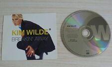 CD SEUL MAXI BREAKIN' AWAY KIM WILDE 4 TITRES 1995