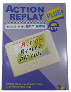 EMS Action Replay Plus 4M Meory Card for Sega Saturn