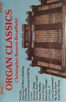 Christopher Bowers Broadbent-Organ Classics Cassette.1980 Chevron CHV 194.