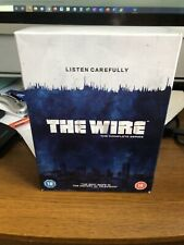 The Wire - Series 1-5 - Complete (DVD, 2008, 24-Disc Set, Box Set) Very Good