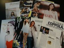 Sofia Coppola 11 full pages   Clippings