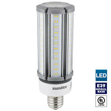 Sunlite LED Corn Bulb, 63W, 5000K Super White, Mogul Base (E39)