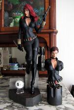 XM Studios BLACK WIDOW Marvel Comics Premium 1:4 Statue w/Coin & ARTGERM Print
