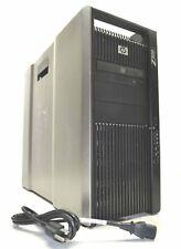 48Gb RAM 2x X5570 Quad Core 2.9Ghz NO HARD DRIVE HP Z800 Workstation GTX650 PC