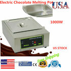 Stainless Steel Chocolate Melter 1 Tank Thermostat Chocolate Warmer Machine 110V