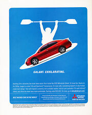 2005 Mitsubishi Galant 230hp  Original Advertisement Car Print Ad J344