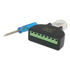 MX RJ45 with screw terminal Plug Cat5e 8P8C Lan Connector Network CAT 5E- S-031