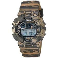 Reloj Para hombres Casio G-shock Buceo Correa De Resina Marrón Esfera Digital GD120CM-5