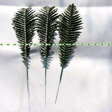 50cm 20pcs Artificial Palm Plant Tree Leaf Branch Christmas Home Decor Green