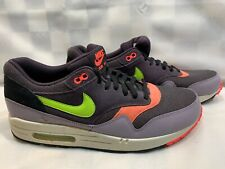 Nike Air Max 1 Essential Sneaker Shoes Men's Size 12 Purple Green 537383-500