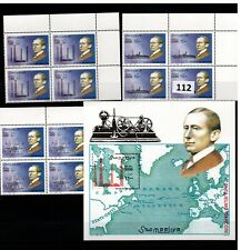 // SOMALIA - MNH - MAPS - SCIENCE - FAMOUS PEOPLE - 2002