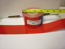 "Solid RED  Reflective   Conspicuity  Tape 2"" x 25' Thick -"
