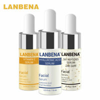 LANBENA Vitamin C Serum+Hyaluronic Acid Serum Anti-Aging Moisturizing Whitening