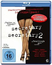 Secretary & Secretary 2 (Blu-ray)~~Maggie Gyllenhaal, James Spader~~NEW SEALED