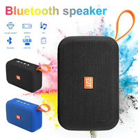 Portable Bluetooth Speaker Wireless Outdoor Stereo Bass USB/TF/FM MP3 Radio LOUD