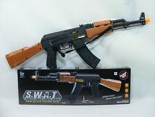 AK-47 Kalashnikov + 12 balles jouet lumineux sons mécanique led cartouches AK47