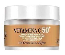 Gel Crema Diaria Antienvejecimiento (SPF 50+) & Vitamina C - Natysal - 50 ml