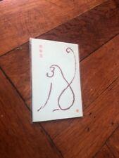 x4 Pochi Bukuro Japan Osyougatsu Otoshidama New Year Envelope Blue bag Monkey