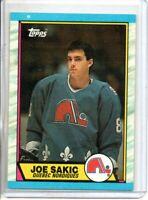 1989-90 TOPPS JOE SAKIC ROOKIE