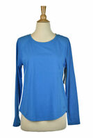 Under Armour Women Activewear Tops SM Blue Polyester