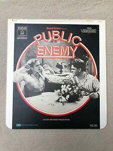 CED VideoDisc UK PAL James Cagney PUBLIC ENEMY