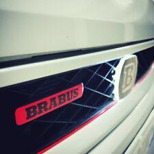 Smart Brabus 450/451/453 Stemma Griglia Anteriore Rossa