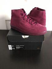 Nike Air Jordan Retro 2 Decon Bordeaux Maroon 100% Authentic W/Receipt