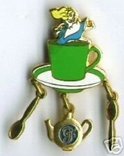 Disney Alice in Wonderland Grand Floridian - Alice's Tea Party - Dangle pin