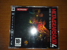 METAL GEAR SOLID 4 GUNS OF THE PATRIOTS PROMO PS3 PLAYSTATION PROMOTIONAL RARE