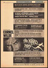 THE NAKED PREY__Original 1966 Trade Print AD movie promo / poster__CORNEL WILDE