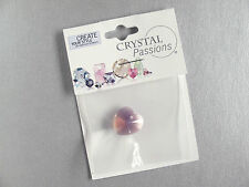 1 x Cyclamen Opal 14x14mm faceted Heart Swarovski Crystal Bead