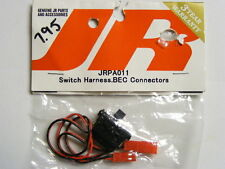 JR #JRPA011 R/C SWITCH HARNESS WITH  BEC CONNECTORS FOR RX POWER PACK -